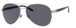 Gucci 2221 Sunglasses Sunglasses - 0DOH Palladium (BN dark gray lens)