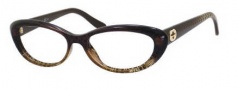 Gucci 3566 Eyeglasses Eyeglasses - 0W9B Brown Diamond