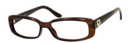 Gucci 3567 Eyeglasses Eyeglasses - 0WE7 Dark Brown