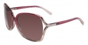 Calvin Klein CK7821S Sunglasses Sunglasses - 607 Burgundy Gradient 