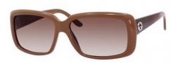 Gucci 3575/S Sunglasses Sunglasses - 0WB7 Antique Pink (S2 brown gradient lens