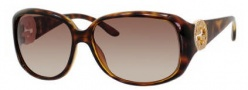 Gucci 3578/S Sunglasses Sunglasses - 0791 Havana (JD brown gradient lens)