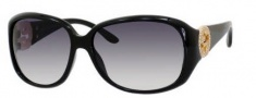 Gucci 3578/S Sunglasses Sunglasses - 0D28 Shiny Black (JJ gray gradient lens)