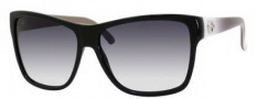 Gucci 3579/S Sunglasses Sunglasses - 0L4E Black (JJ gray gradient lens)