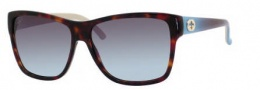 Gucci 3579/S Sunglasses Sunglasses - 0WQ2 Havana (YS gray blue aqua lens)
