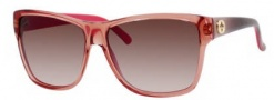 Gucci 3579/S Sunglasses Sunglasses - 0WR4 Light Rose (S2 brown gradient lens)