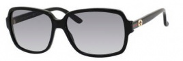 Gucci 3583/S Sunglasses Sunglasses - 0807 Black (JJ gray gradient lens)