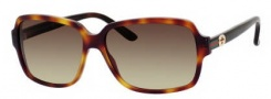 Gucci 3583/S Sunglasses Sunglasses - 0WRR Havana (CC brown gradient lens)