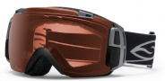 Smith Optics I/O Recon Snow Goggles Goggles - Black / Polarized Rose Copper / Extra Red Sensor Mirror