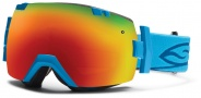 Smith Optics IOX Snow Goggles Goggles - Cyan / Red Sol X Mirror / Extra Red Sensor Mirror