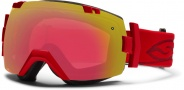 Smith Optics IOX Snow Goggles Goggles - Fire / Red Sensor Mirror / Extra Red Sol X Mirror