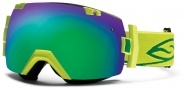 Smith Optics IOX Snow Goggles Goggles - Lime / Green Sol X Mirror / Extra Red Sensor Mirror