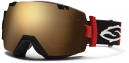 Smith Optics IOX Snow Goggles Goggles - Irie Cinch / Green Sol X Mirror / Extra Red Sensor Mirror