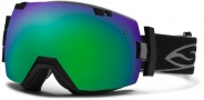 Smith Optics IOX Snow Goggles Goggles - Black / Green Sol X Mirror / Extra Blue Sensor Mirror