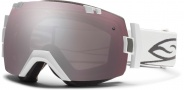 Smith Optics IOX Snow Goggles Goggles - White / Ignitor Mirror / Extra Blue Sensor Mirror
