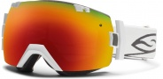 Smith Optics IOX Snow Goggles Goggles - White / Red Sol X Mirror / Extra Red Sensor Mirror