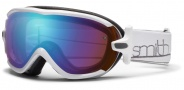 Smith Optics Virtue Snow Goggles  Goggles - White / Blue Sensor Mirror