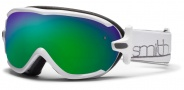Smith Optics Virtue Snow Goggles  Goggles - White / Green Sol X Mirror