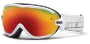Smith Optics Virtue Snow Goggles  Goggles - White / Red Sol X Mirror