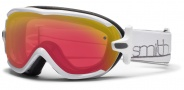 Smith Optics Virtue Snow Goggles  Goggles - White / Red Sensor Mirror