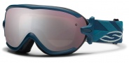 Smith Optics Virtue Snow Goggles  Goggles - Teal Riviera / Ignitor Mirror