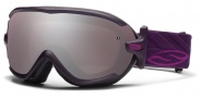 Smith Optics Virtue Snow Goggles  Goggles - Shadow Purple Riviera / Ignitor Mirror