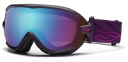 Smith Optics Virtue Snow Goggles  Goggles - Shadow Purple Riviera / Blue Sensor Mirror