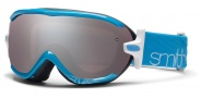 Smith Optics Virtue Snow Goggles  Goggles - Light Blue Twist / Ignitor Mirror