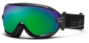 Smith Optics Virtue Snow Goggles  Goggles - Black / Green Sol X Mirror