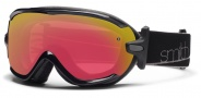 Smith Optics Virtue Snow Goggles  Goggles - Black / Red Sensor Mirror