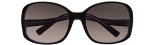 BCBGMaxazria Drama Sunglasses Sunglasses - BLA Black Laminate