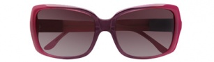 BCBGMaxazria Flirt Sunglasses  Sunglasses - RAS Raspberry Fade 