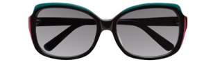 BCBGMaxazria Glow Sunglasses Sunglasses - BLA Black 