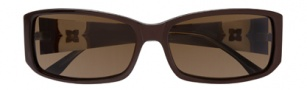 BCBGMaxazria Joy Sunglasses Sunglasses - BRO Brown