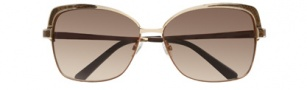 BCBGMaxazria Ritz Sunglasses Sunglasses - GOL Gold