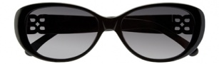 BCBGMaxazria Tickled Sunglasses Sunglasses - BLA  Black