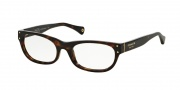 Coach HC6034 Eyeglasses Eyeglasses - 5001 Dark Tortoise