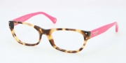 Coach HC6034 Eyeglasses Eyeglasses - 5102 Spotty Tortoise / Fuschi