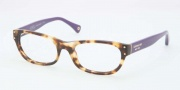 Coach HC6034 Eyeglasses Eyeglasses - 5103 Spotty Tortoise / Purple