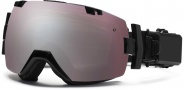 Smith Optics I/OX Elite Turbo Fan Snow Goggles Goggles - Black / Ignitor Mirror / Extra Blue Sensor Mirror