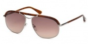Tom Ford FT0234 Russel Sunglasses Sunglasses - 16B Shiny Palladium / Gradient Smoke