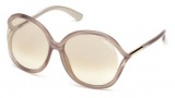 Tom Ford FT0252 Rhi Sunglasses  Sunglasses - 33G Gold / Brown Mirror