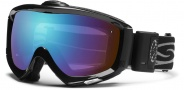 Smith Optics Prophecy Turbo Fan Snow Goggles Goggles - Black / Blue Sensor Mirror