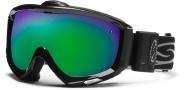 Smith Optics Prophecy Turbo Fan Snow Goggles Goggles - Black / Green Sol X Mirror