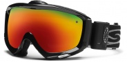Smith Optics Prophecy Turbo Fan Snow Goggles Goggles - Black / Red Sol X Mirror