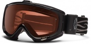 Smith Optics Phenom Turbo Fan Snow Goggles Goggles - Black / Polarized Rose Copper