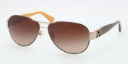 Coach HC7009Q Sunglasses  Sunglasses - 905613 Gold / Brown Dark Brown Gradient
