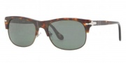 Persol PO3034S Sunglasses Sunglasses - 24/31 Havana / Crystal Green