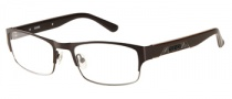 Guess GU 1760 Eyeglasses Eyeglasses - BRN: Brown Satin