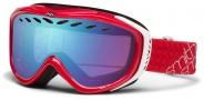 Smith Optics Transit Snow Goggles Goggles - Neon Red / Blue Sensor Mirror